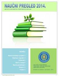Naučni pregled 2014